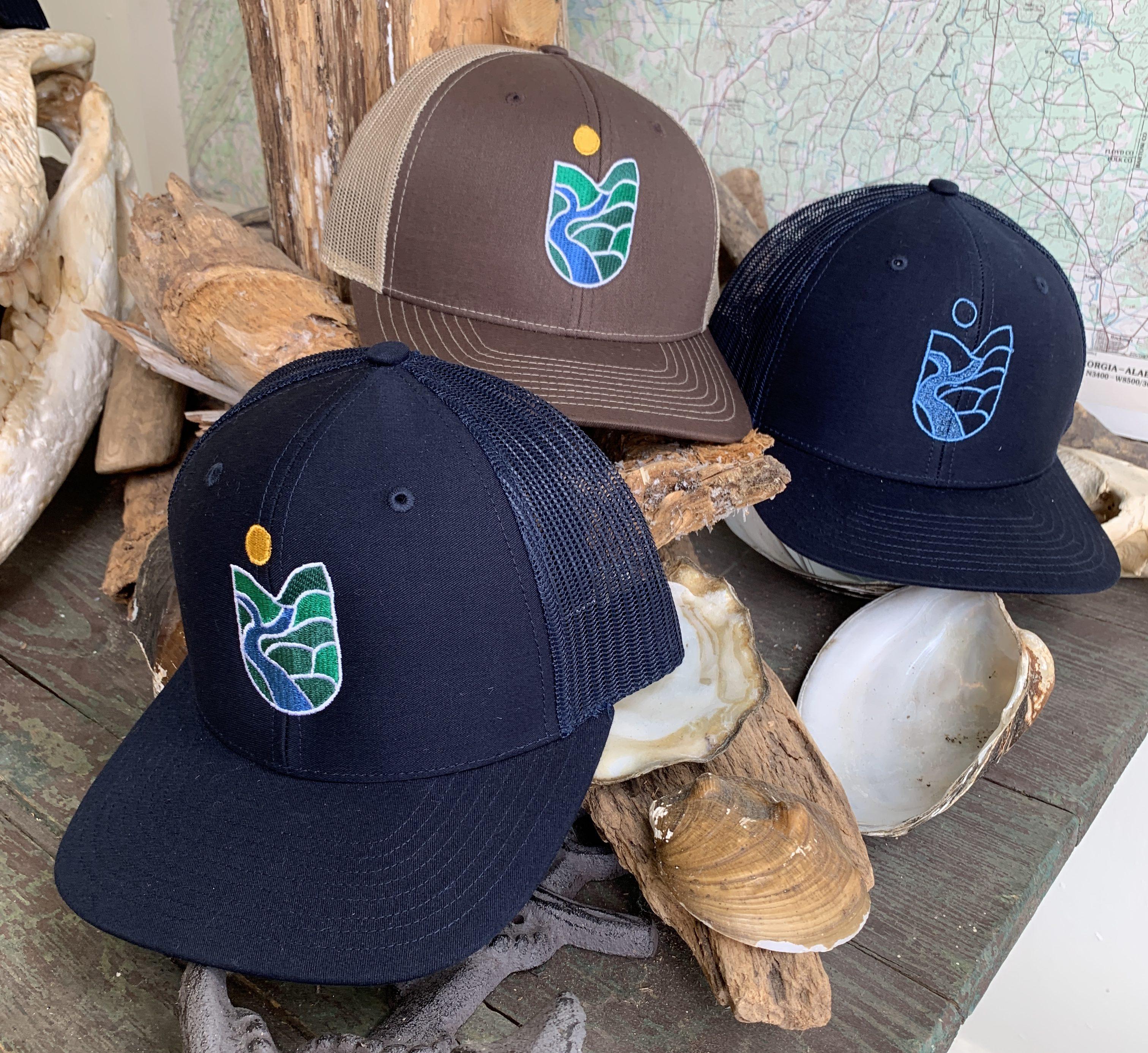 0a30b2ce4 CRBI Graphic Trucker Hat